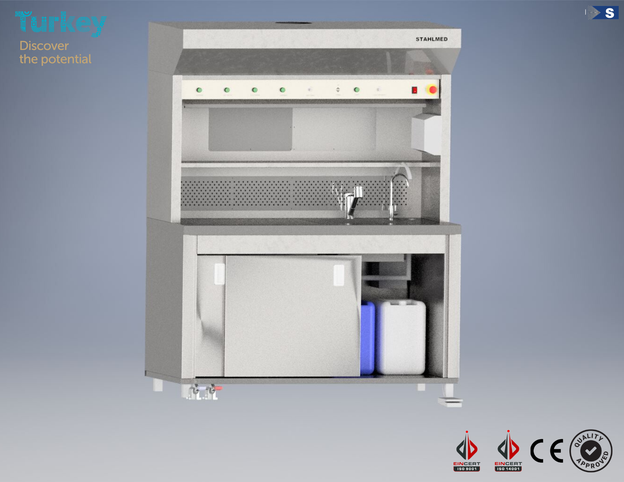 Stahlmed Laboratory Systems | Grossing Workstation
