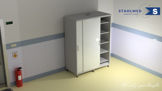 Vented Storage Cabinet for Specimen Stahlmed