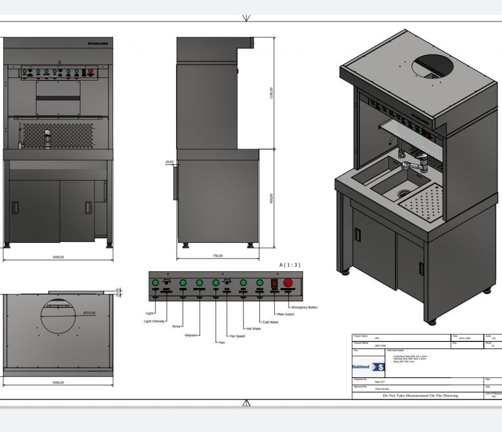 Custom Build Grossing Workstation