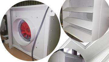 External Exhaust Unit For Grossing Workstation | Stahlmed