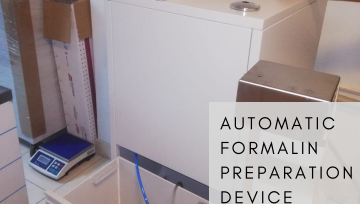 Automatic Formalin Preparation & Dispensing Device