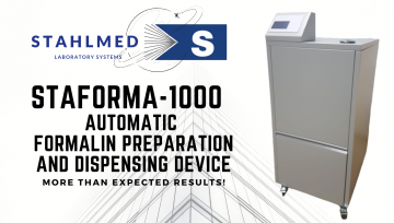 STAFORMA-1000 Series, Automatic Formalin Preparation and Dispensing Device